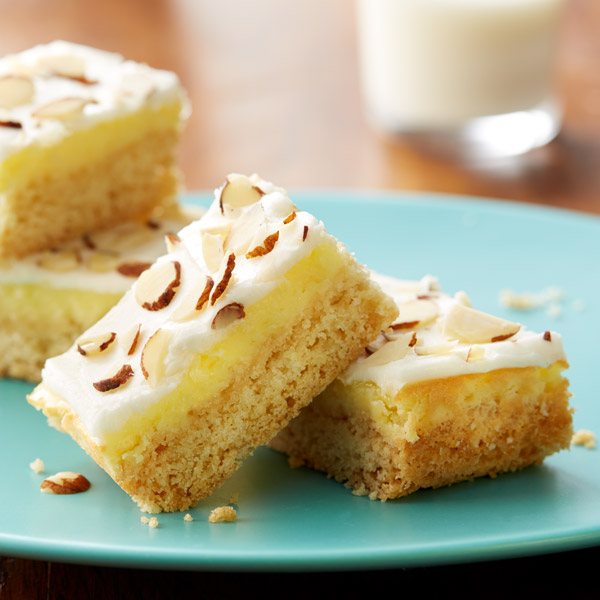 Gluten Free Almond Cream Cheese Bars